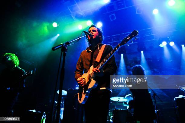 Kevin Drew of Broken Social Scene performs on stage at KOKO on November 12 2010 in London England