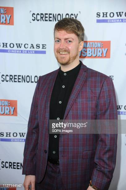 Kevin Drewsbury seen during the Destination Dewsbury UK premiere A premiere of a new British comedy about five friends who reunite for one last road...