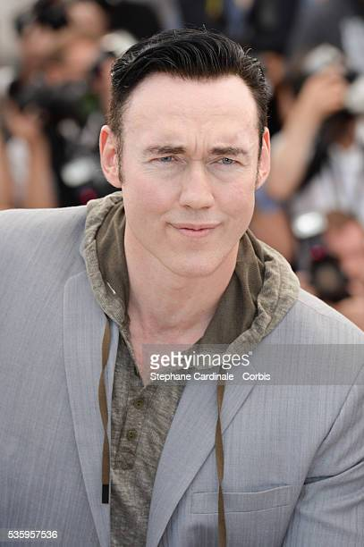 """Kevin Durand attends the """"Captives"""" photocall during the 67th Cannes Film Festival."""