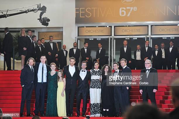 Kevin Durand, Mireille Enos, Peyton Kennedy, Ryan Reynolds, Atom Egoyan, Rosario Dawson, Arsinee Khanjian, Arshile Egoyan and Scott Speedman at 'The...