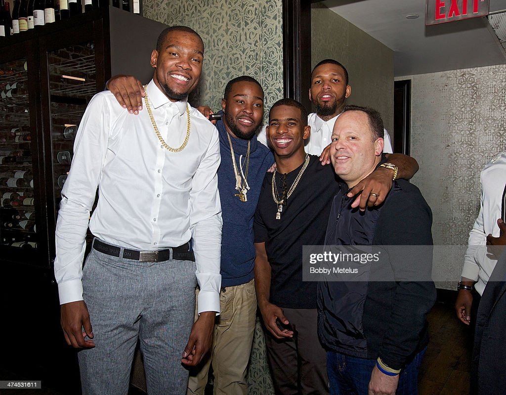 Dwayne Wade Attends NBA All-Star Weekend 2014 - Day 2 : News Photo