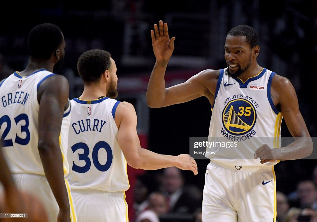 Golden State Warriors v Los Angeles Clippers - Game Six : News Photo