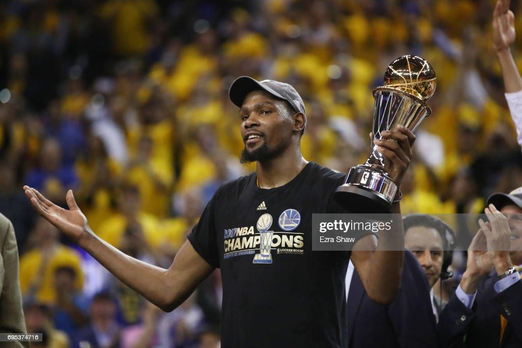 2017 NBA Finals - Game Five : Foto di attualità