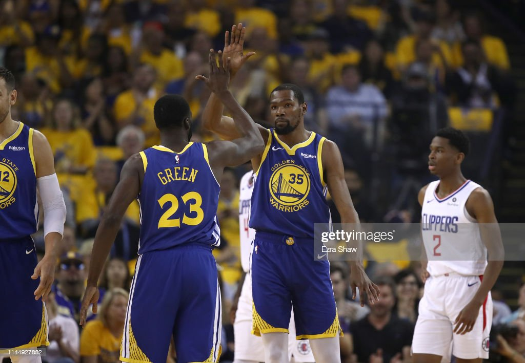 Los Angeles Clippers v Golden State Warriors - Game Five : News Photo
