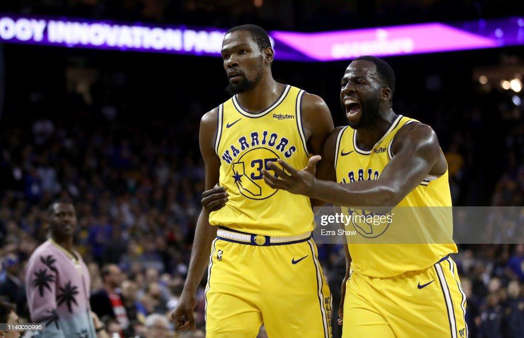Denver Nuggets v Golden State Warriors : Fotografía de noticias