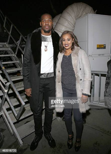 Kevin Durant of the Oklahoma City Thunder and Skylar Diggins of the Tulsa Shock attend ROC NATION SPORTS Rn 1st Annual Roc City Classic starring...