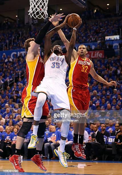 Oklahoma City Thunder V Houston Rockets Game Five Photos ...
