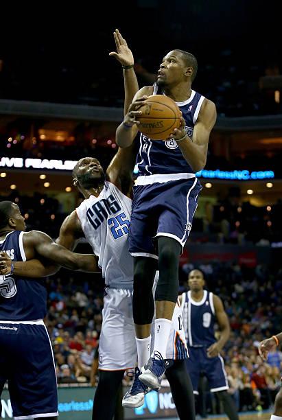 Oklahoma City Thunder v Charlotte Bobcats