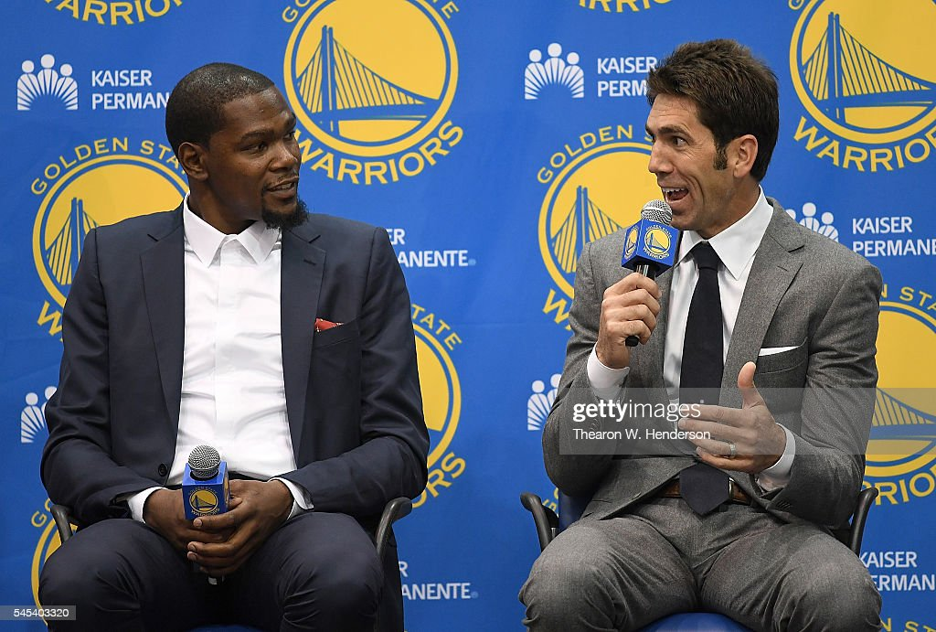 Golden State Warriors Introduce Kevin Durant