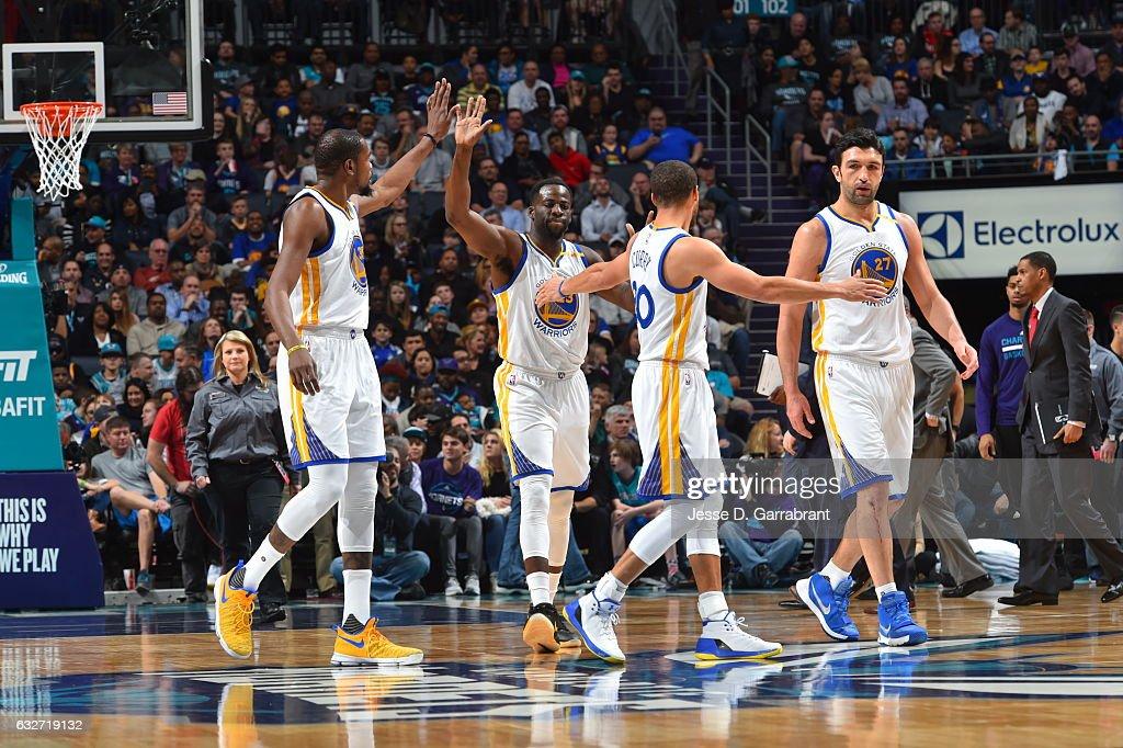 Golden State Warriors v Charlotte Hornets : News Photo