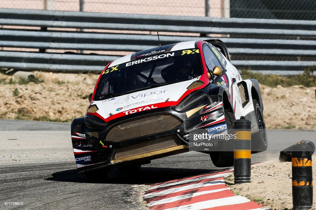 Kevin ERIKSSON (SWE) in Ford Fiesta of MJP Racing Team Austria in action during the World RX of Portugal 2017, at Montalegre International Circuit in Portugal on April 22, 2017.