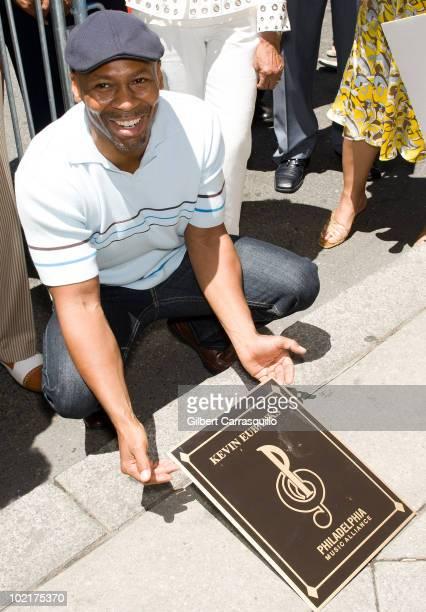 Kevin Eubanks attends his plaque unveiling on the Philadelphia Walk Of Fame on June 17 2010 in Philadelphia Pennsylvania
