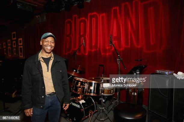 Kevin Eubanks attends the Kevin Eubanks' 'East West Time Line' album release party at Birdland Jazz Club on April 11 2017 in New York City