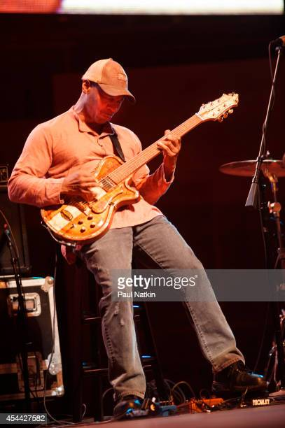 Kevin Eubanks performs during 2014 Chicago Jazz Festival at Grant Park on August 30 2014 in Chicago Illinois