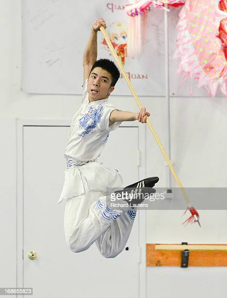 Kevin Fan is a Canadian Wushu national team member and is seen working on the spear The International Olympic Committee will soon decide which of 8...