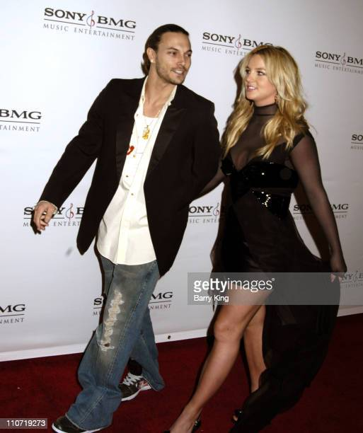 Kevin Federline and Britney Spears during 2006 Sony/BMG GRAMMY After Party Arrivals at Roosevelt Hotel in Hollywood California United States