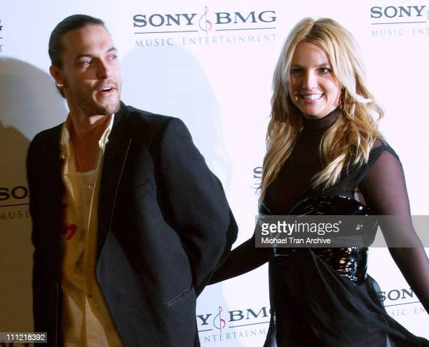 Kevin Federline and Britney Spears during 2006 Sony/BMG GRAMMY After Party at Roosevelt Hotel in Hollywood California United States