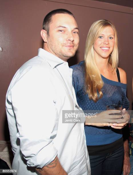 NEW YORK MARCH 19 Kevin Federline and Victoria Prince attend Kevin Federline's 31st birthday celebration at M2 on March 19 2009 in New York City