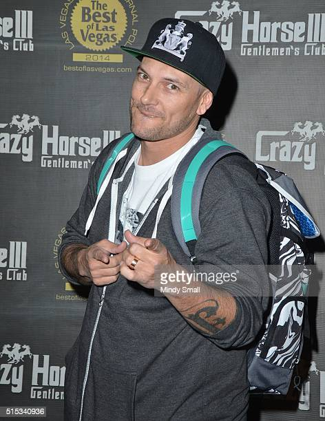 Kevin Federline arrives at the Crazy Horse III Gentlemen's Club to celebrate his birthday on March 12 2016 in Las Vegas Nevada