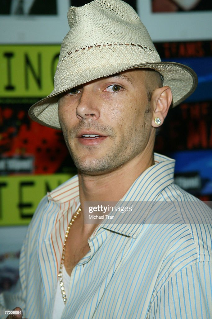 Kevin Federline arrives at the Financially Hung Black Card Launch ... f3b5d60abbe