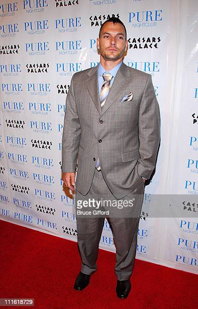 Kevin Federline arrives to celebrate his 30th Birthday Party at Pure on March 21 2008 in Las Vegas Nevada