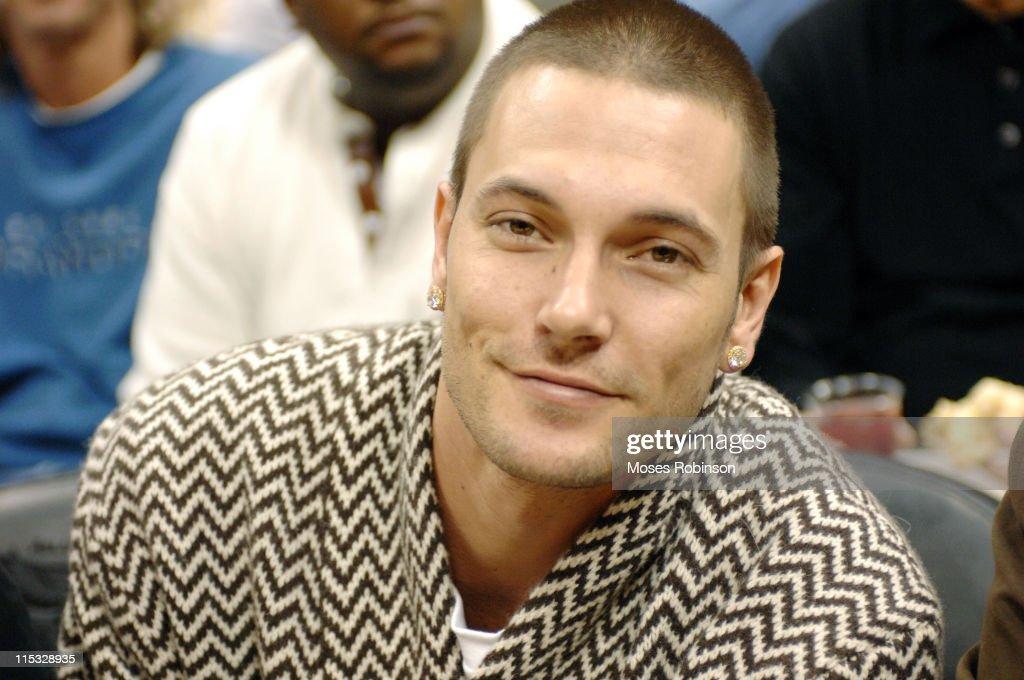 Celebrity Sightings at Atlanta Hawks vs Miami Heat - November 18, 2006