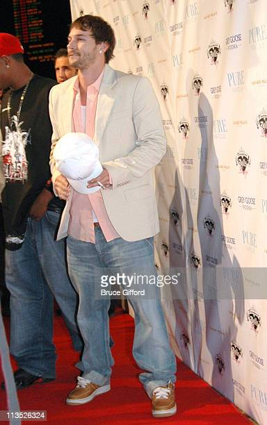 Kevin Federline during Kevin Federline Promotes His New Album Playing With Fire at Pure in Las Vegas April 21 2006 at Pure Night Club in Las Vegas...
