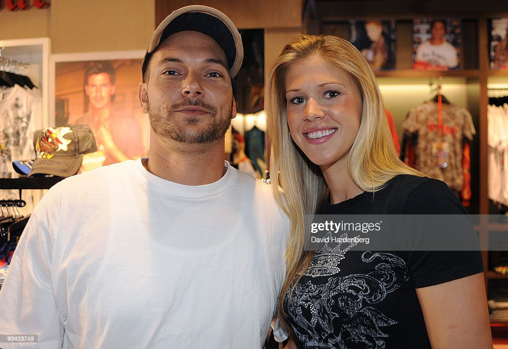 Kevin Federline Makes Ed Hardy Instore Appearance : News Photo