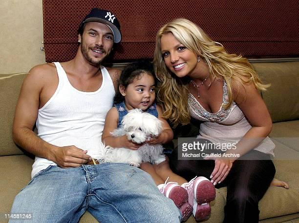 Kevin Federline Kori Federline Britney Spears and Laci