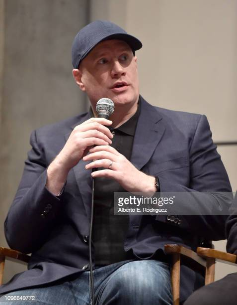 Kevin Feige attends the 2019 PGA Nominees Breakfast on January 19 2019 in Beverly Hills California
