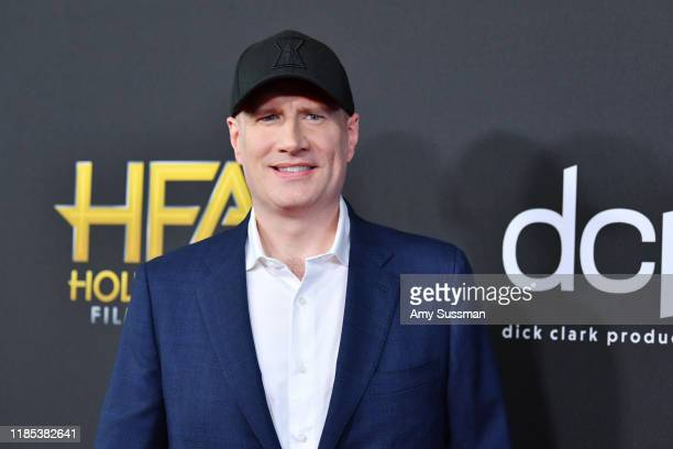 Kevin Feige attends the 23rd Annual Hollywood Film Awards at The Beverly Hilton Hotel on November 03 2019 in Beverly Hills California