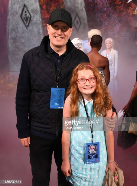 "Kevin Feige attends the premiere of Disney's ""Frozen 2"" at Dolby Theatre on November 07, 2019 in Hollywood, California."