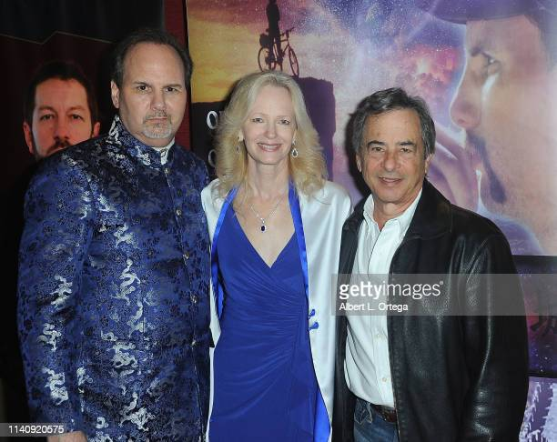 Kevin Foster Kim Holland and Andrew Sugarman attend the Premiere Of Against The Wall held at Laemmle Monica Film Center on May 2 2019 in Santa Monica...