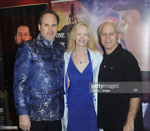 Kevin Foster Kim Holland and David Dizenfeld attend the Premiere Of Against The Wall held at Laemmle Monica Film Center on May 2 2019 in Santa Monica...
