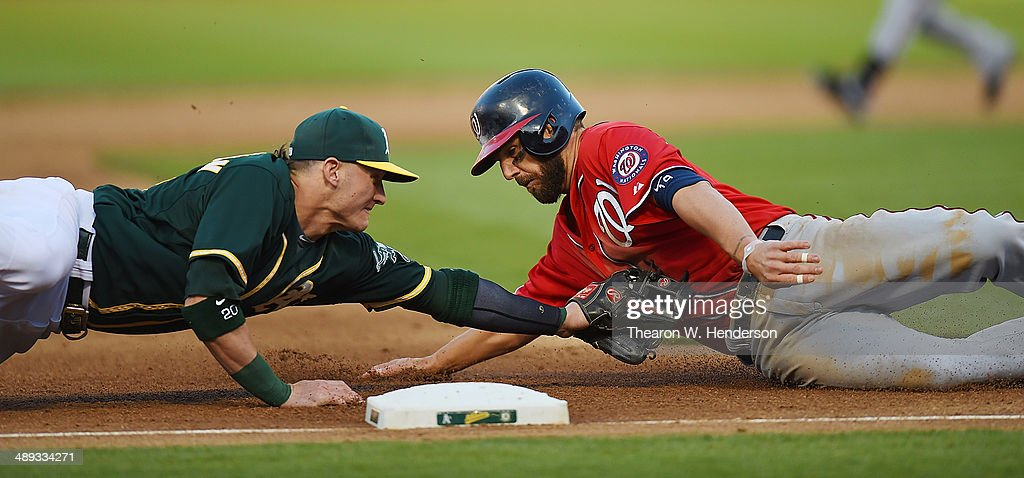 Washington Nationals v Oakland Athletics