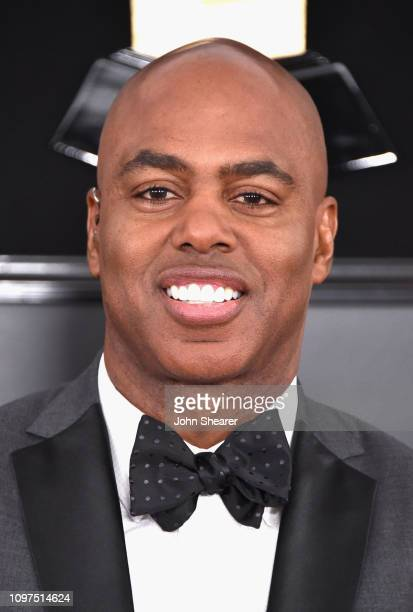 Kevin Frazier attends the 61st Annual GRAMMY Awards at Staples Center on February 10 2019 in Los Angeles California