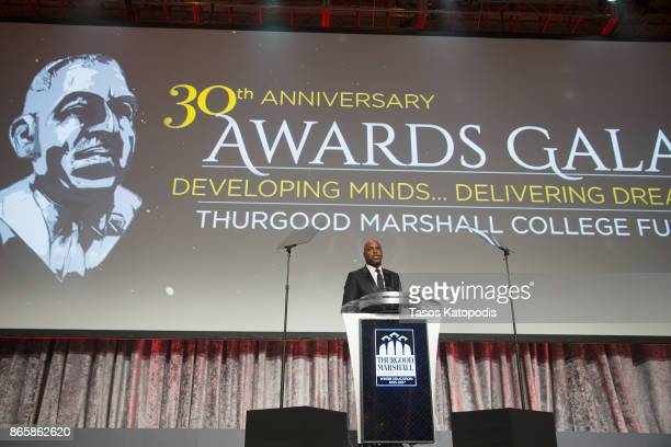 Kevin Frazier attends the Thurgood Marshall College Fund gala on October 23 2017 in Washington DC