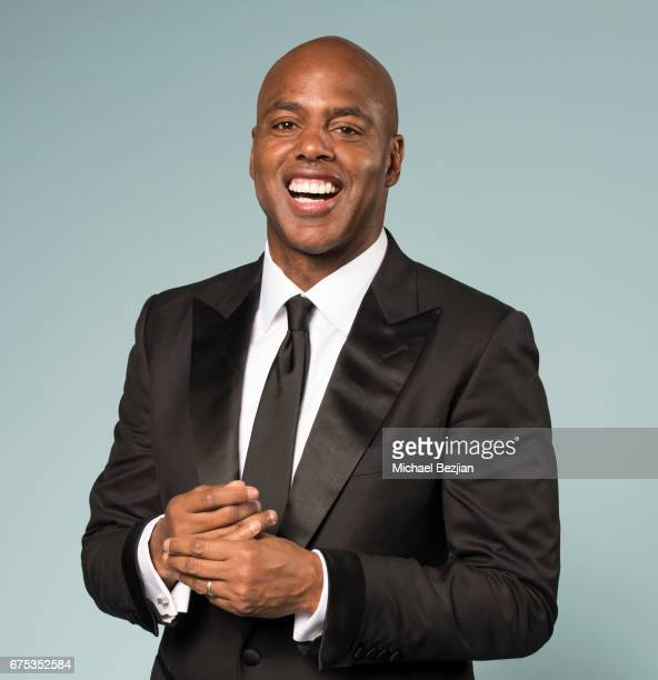 Kevin Frazier poses for portraits at The 44th Daytime Emmy Awards Portraits by The Artists Project Sponsored by Foster Grant on April 30 2017 in Los...