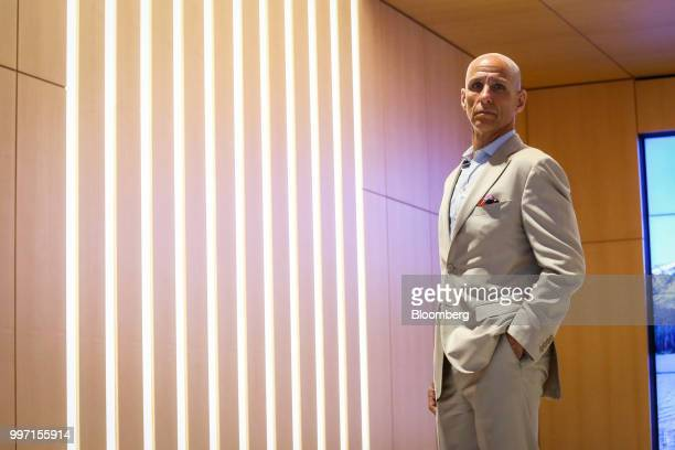 Kevin Gahwyler president and chief financial officer of Navy Capital LLC stands for a photograph at the company's office in New York US on Tuesday...