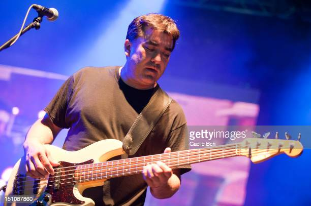 Kevin Garcia of Grandaddy performs on stage during Electric Picnic on August 31 2012 in Stradbally Ireland