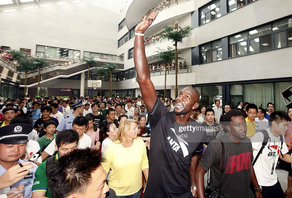 Kevin Garnett of Boston Celtics attends ANTA commercial event on August 17, 2011 in Wuhan, Hubei Province of China.