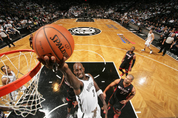 Kevin Garnett of the Brooklyn Nets