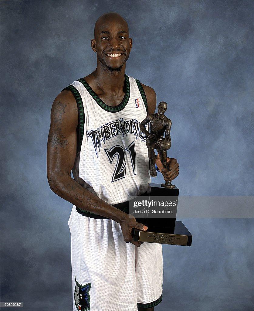 NBA MVP Kevin Garnett