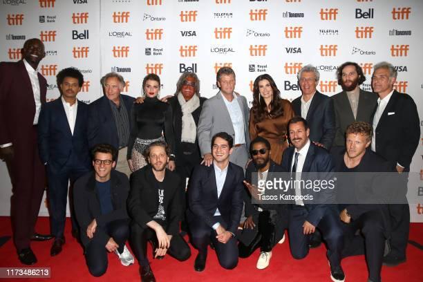 Kevin Garnett, The Weeknd, Judd Hirsch, Julia Fox, Idina Menzel, Eric Bogosian, Josh Safdie, Ronald Bronstein, Eli Bush, Daniel Lopatin, Benny...