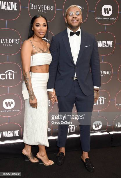 Kevin Gates arrives at the Warner Music Group PreGrammy Celebration at Nomad Hotel Los Angeles on February 7 2019 in Los Angeles California