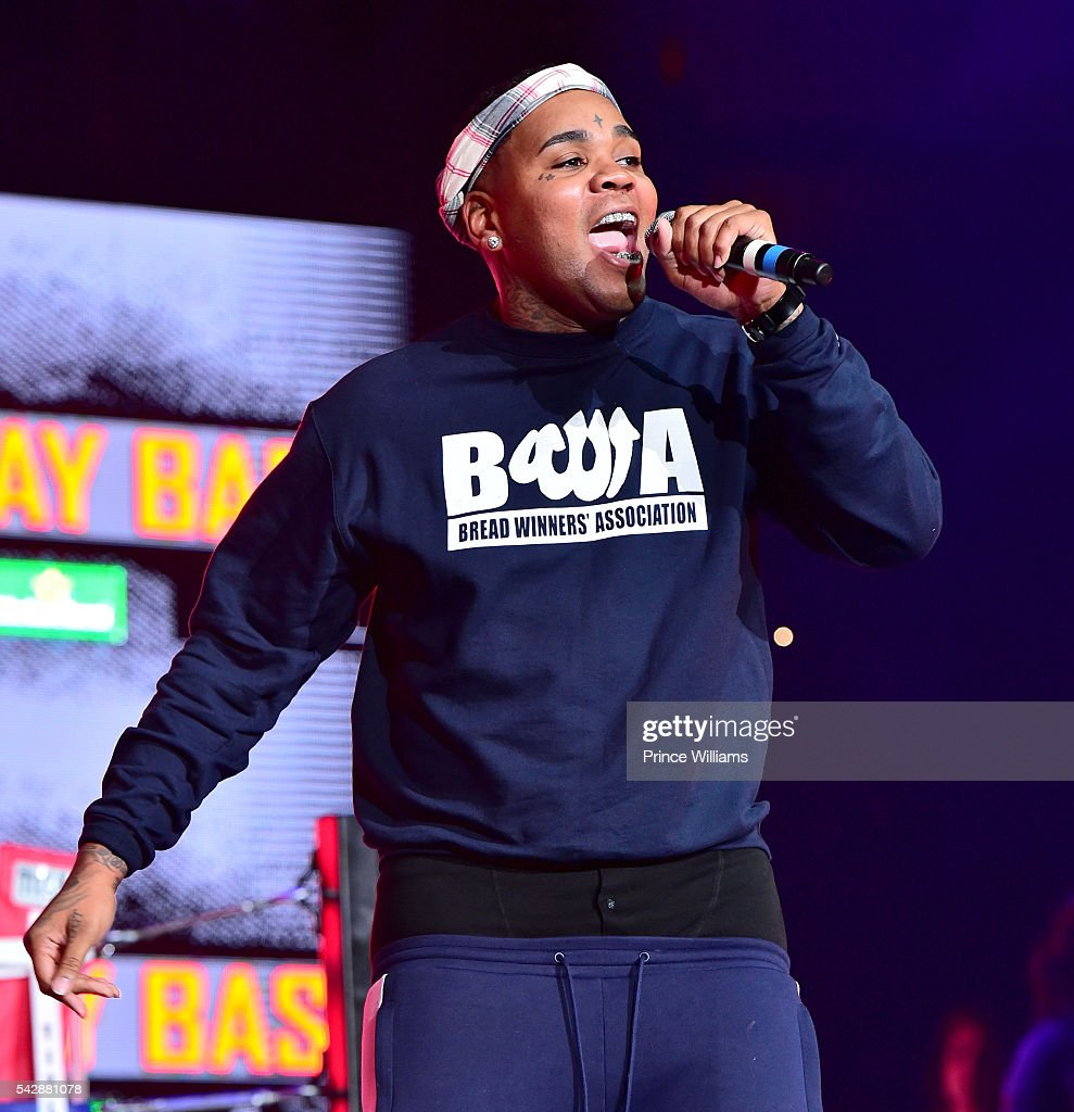 Kevin Gates performs at Birthday Bash ATL The Heavyweights of HIP HOP Live in Concert at Philips Arena on June 18, 2016 in Atlanta, Georgia.