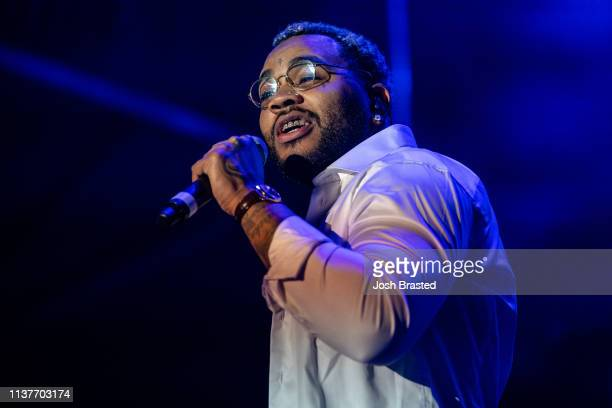 Kevin Gates performs at the Buku Music Art Project at Mardi Gras World on March 22 2019 in New Orleans Louisiana