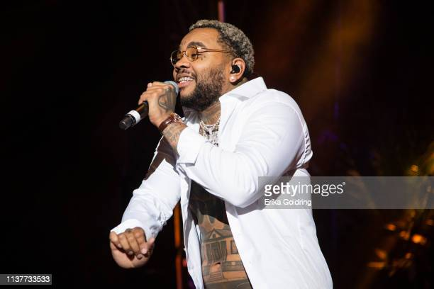 Kevin Gates performs during BUKU Music Art Project at Mardi Gras World on March 22 2019 in New Orleans Louisiana