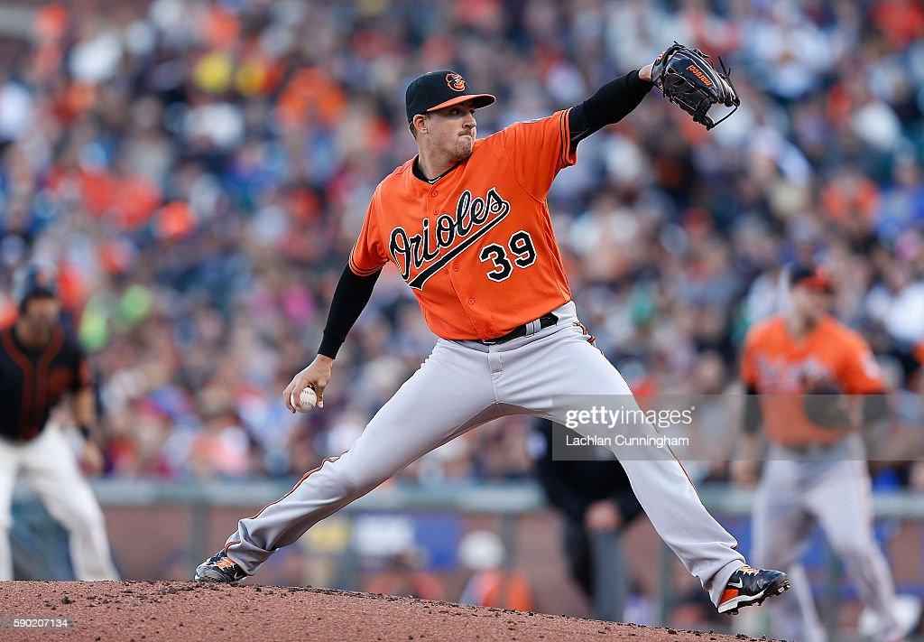 Baltimore Orioles v San Francisco Giants : News Photo