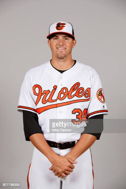 Kevin Gausman of the Baltimore Orioles poses during Photo Day on Tuesday February 20 2018 at Ed Smith Stadium in Sarasota Florida
